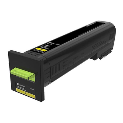 Lexmark 72K0X40 Yellow Toner Cartridge