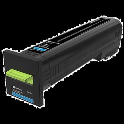 Lexmark 82K0X20 Cyan Toner Cartridge