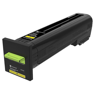 Lexmark 82K0X40 Yellow Toner Cartridge