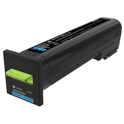 Lexmark 82K0XCG Cyan Toner Cartridge for US Government