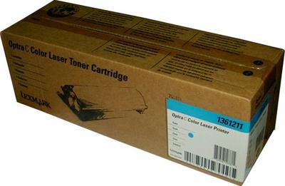 Lexmark 1361211 Cyan Toner Cartridge
