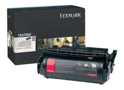 Lexmark 12A7365 Black Toner Cartridge