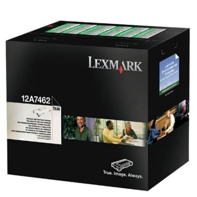 Lexmark 12A7462 Black Toner Cartridge