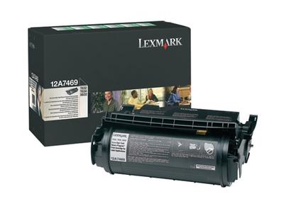 Lexmark 12A7469 Black Toner Cartridge for Labels