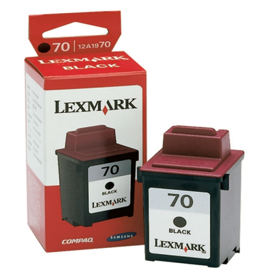 Lexmark 12A1970 Black Ink Cartridge