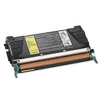 Lexmark C5340YX Yellow Toner Cartridge