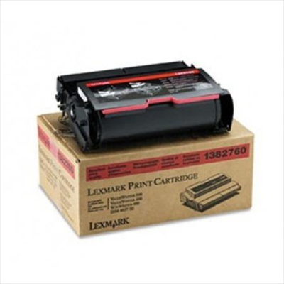 Lexmark 1382760 Black Toner Cartridge