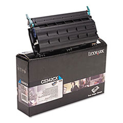 Lexmark C5342CX Cyan Toner Cartridge
