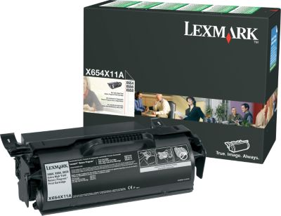 Lexmark X654X11A Black Toner Cartridge
