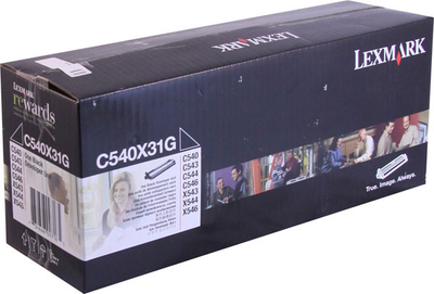 Lexmark C540X31G Black Developer