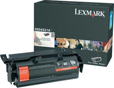 Lexmark X654X21A Black Toner Cartridge