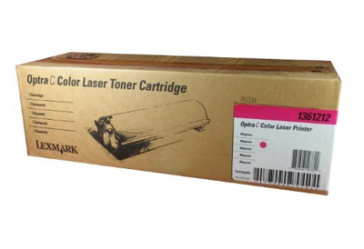 Lexmark 1361212 Magenta Toner Cartridge
