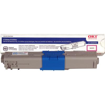 Okidata 44469702 Magenta Toner Cartridge (TYPE C17)