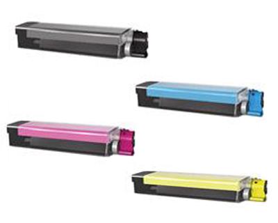 Okidata 4291898 Cyan, Magenta, Yellow, Black Toner Cartridge Multipack