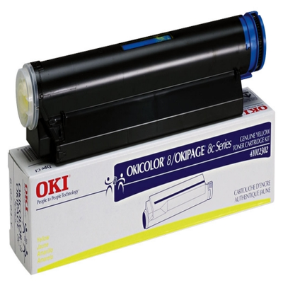 Okidata 41012302 Yellow Toner Cartridge (TYPE C1)