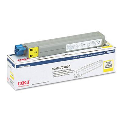 Okidata 42918901 Yellow Toner Cartridge (TYPE C7)