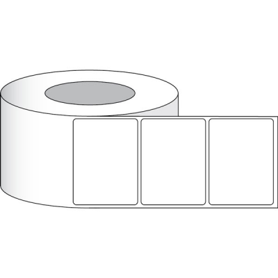 "Primera 74661 LX3"" High Gloss Paper Plus Labels (4"" x 2"" NP) (3"" Core)"