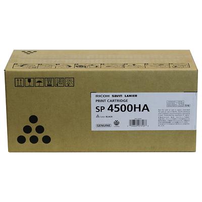 Ricoh 407316 Black Print Cartridge (TYPE SP4500HA)