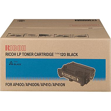 Ricoh 400942 Black Toner Cartridge (TYPE 120)