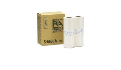 Risograph S-568LA 2-Pack Masters (227mm x 100m)