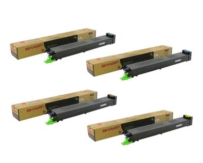 Sharp MX-51NT#A Cyan, Magenta, Yellow, Black Toner Cartridge Multipack (MX51NT_A)