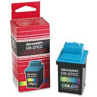 Sharp UX-27CC TriColor Ink Cartridge (UX27CC)