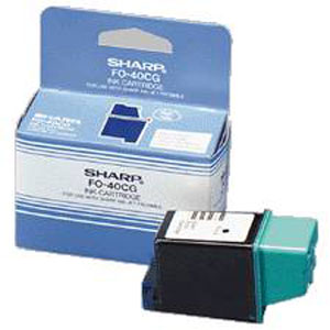 Sharp FO-40CG Black Ink Cartridge (FO40CG)