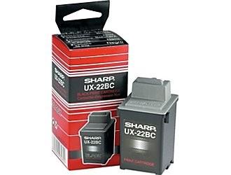 Sharp UX-22BC Black Ink Cartridge (UX22BC)