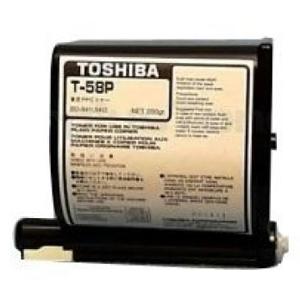 Toshiba T-58P Black Toner Cartridge (T58P)