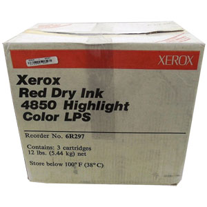 Xerox 6R297 Red 3-Pack Dry Ink (006R00297)