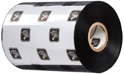 "Zebra 05555BK11045 Ribbon Wax/Resin (4.33"" x 1476' Roll) (1"" Core)"