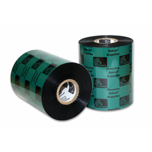 "Zebra 02000BK10645 Ribbon Wax (4.17"" x 1476') (1"" Core)"