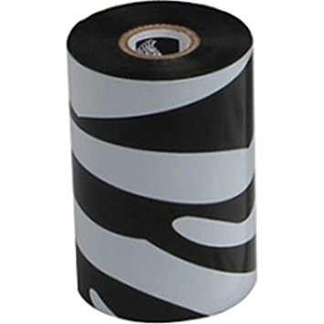 "Zebra 02000BK15645 Ribbon Wax (6.14"" x 1476') (1"" Core)"