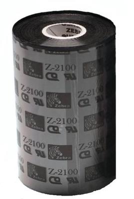 "Zebra 02100BK17445 Ribbon Wax (6.85"" x 1476') (1"" Core)"