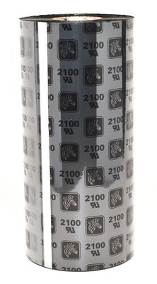 "Zebra 02100BK17490 Ribbon Wax (6.85"" x 2955')"