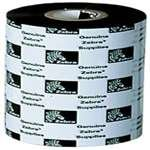 "Zebra 03200BK06045 Ribbon Wax/Resin (2.36"" x 1476') (1"" Core)"