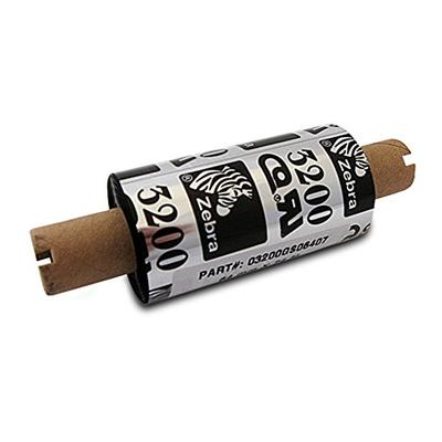 "Zebra 03200GS06407 Ribbon Wax/Resin (2.50"" x 244') (0.5"" Core)"