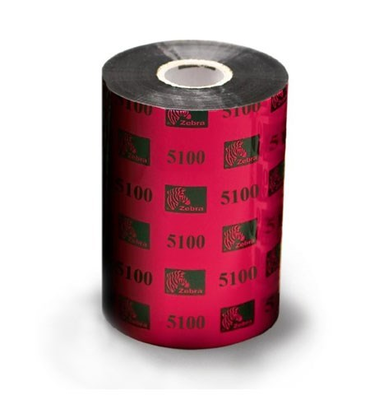 "Zebra 05100BK08345 Ribbon Resin (3.27"" x 1476') (1"" Core)"