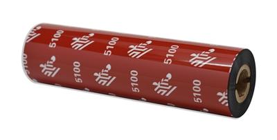 """Zebra 05100GS11007 Ribbon Resin (4.30"""" x 244') (0.5"""" Core)"""