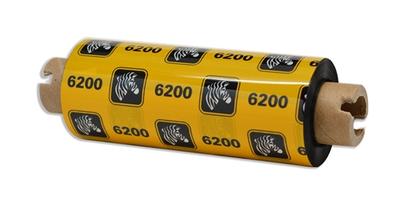 """Zebra 06200GS08407 Ribbon Resin (3.31"""" x 244') (0.5"""" Core)"""