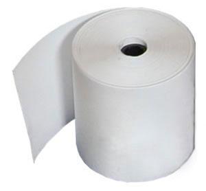 "Zebra 10010058 2.4 mil Receipt Paper (4"" x 574') (1"" Core)"